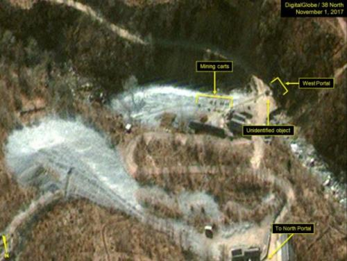 Satellite Images Show North Korea Building New Tunnel At Nuclear-Test Site