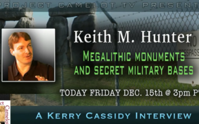 KEITH HUNTER: MEGALITHIC MONUMENTS AND SECRET MILITARY BASES [VIDEO]