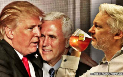 Julian Assange Just Warned of a Deep State Coup Meant to Install Mike Pence as President