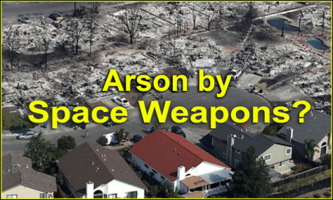 California Fires and Space-Based Weather Weapons
