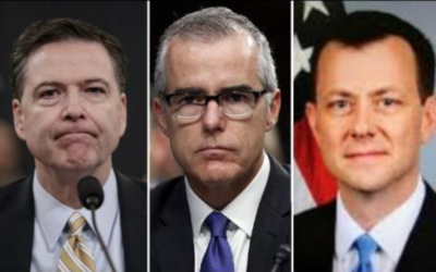 FBI Edits To Clinton Exoneration Go Far Beyond What Was Previously Known; Comey, McCabe, Strzok Implicated