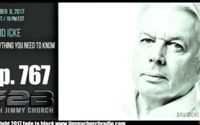 FADE to BLACK Jimmy Church w/ David Icke : The Everything Interview [AUDIO]