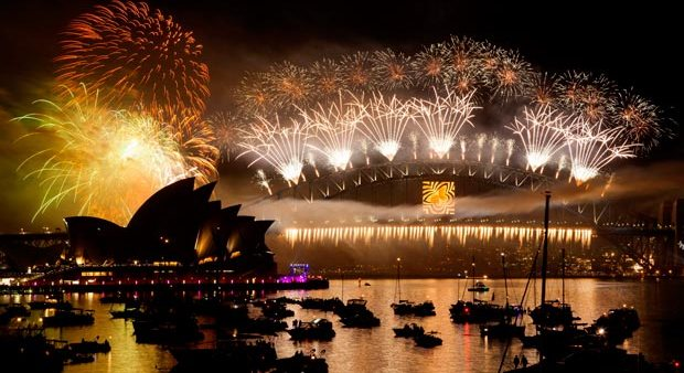 New Year's Eve celebrations: world welcomes 2018