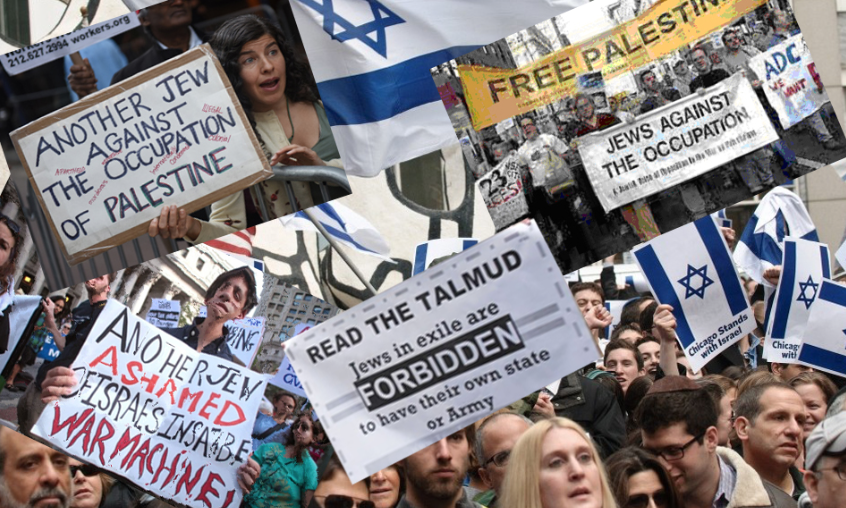 The Row over Jerusalem Gives American Jews a Tough Choice // Diaspora Jews have had enough of Israel and Zio-Barbarism