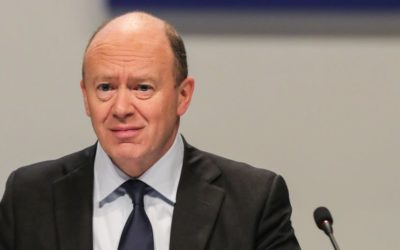 Deutsche Bank's CEO hints that half its workers could be replaced by machines