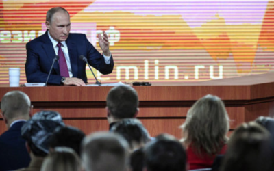 Putin Schools Journalists and Western Politicians in Annual Q&A Marathon