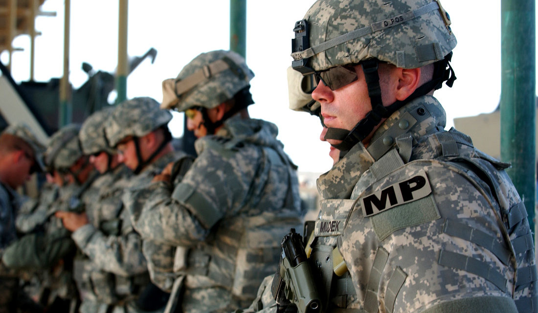 az national guard military police unit deploys to
