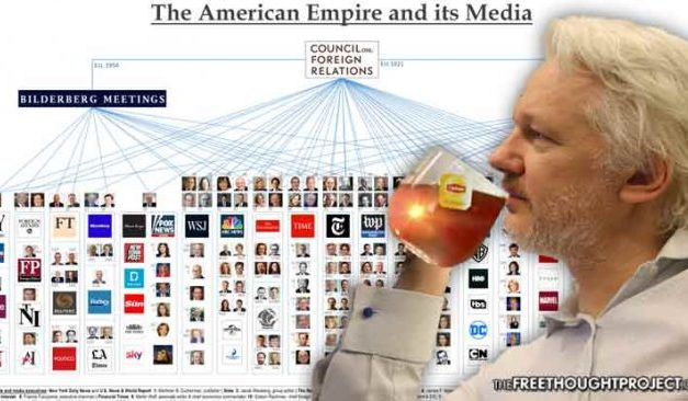 WikiLeaks Exposes How Council on Foreign Relations Controls Most All Mainstream Media