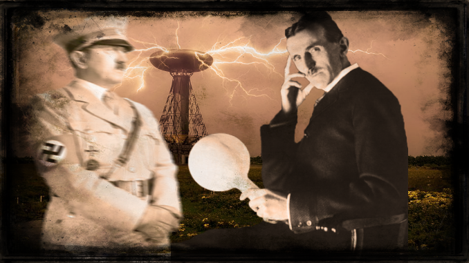Did Adolf Hitler want to snatch the Death Ray of Tesla and assasinate him?