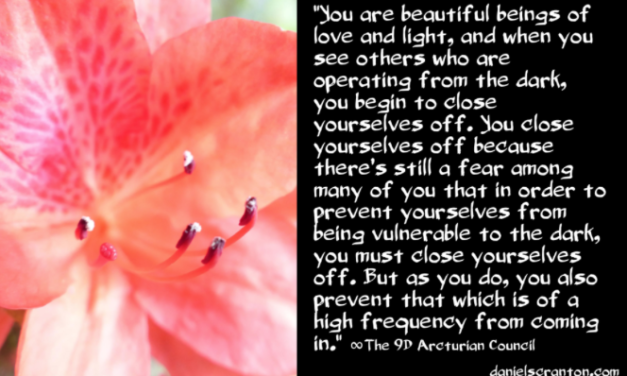 What You Let In ∞The 9th Dimensional Arcturian Council