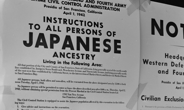 Today in History: Pres. Roosevelt Signs Executive Order for Internment Camps
