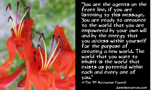 The Energies of Empowerment ∞The 9th Dimensional Arcturian Council