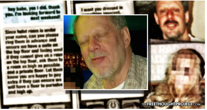 Vegas Shooter Reportedly Warned His Brain was 'Hacked' and He Was Under Gov't Control