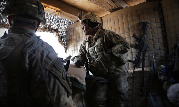 """Trump and DOD Disagree: Trump """"We get ISIS and go home"""" // DOD: We're staying"""