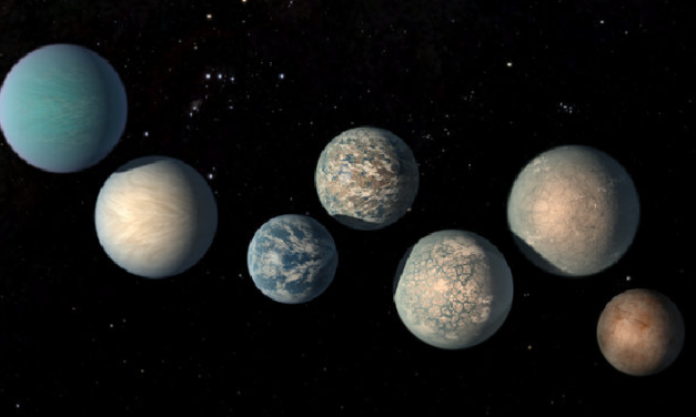 TRAPPIST-1 Planets Could Harbor 250 Times More Water Than Earth's Oceans