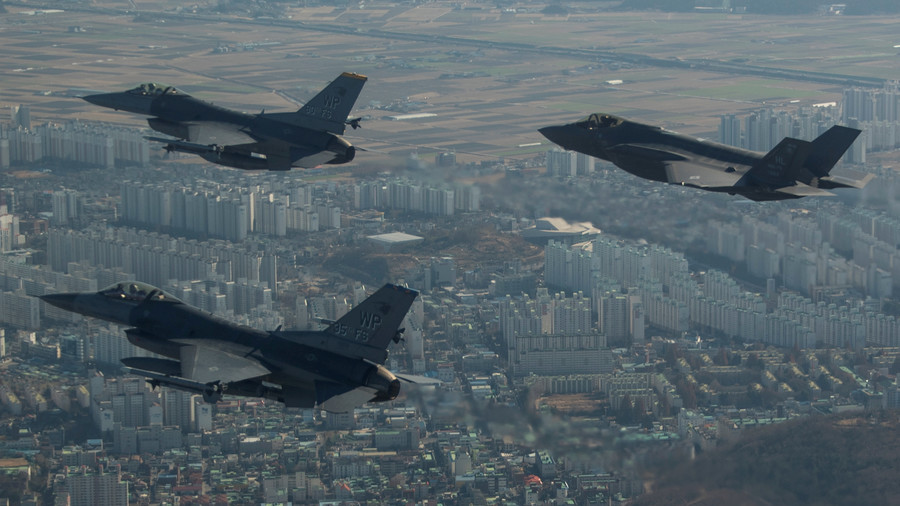 US & South Korea to start massive joint military drills on April 1