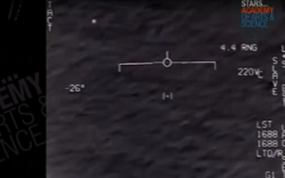 Mystery Object Over Atlantic Ocean Stuns Military Personnel [VIDEO]