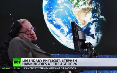 Stephen Hawking dies at the age of 76 [VIDEO]