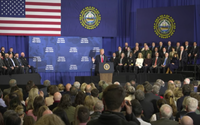 President Trump Delivers Remarks in New Hampshire on Combating the Opioid Crisis [VIDEO]
