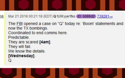 Latest Q Anon – FBI opened a case on Q – Nobody escapes this. NOBODY [VIDEO]