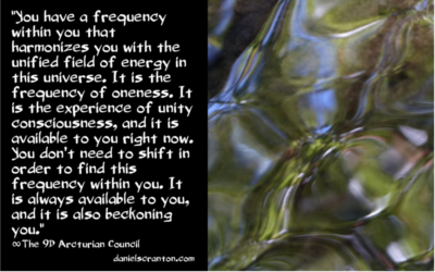 The Oneness Frequency ∞The 9th Dimensional Arcturian Council