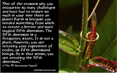 You Are the Creators of the Fifth Dimension ∞The 9D Arcturian Council