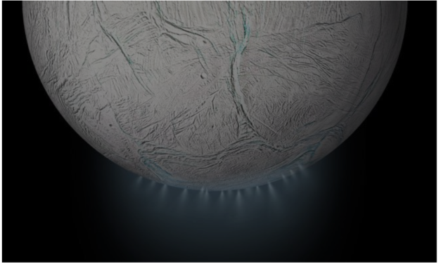 Saturn's Moon Shows Curious Signs of Alien Life