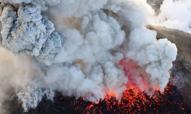 Japanese volcano erupts, dozens of flights grounded