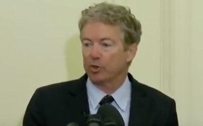 Rand Paul holds news conference, blasts Mike Pompeo & Gina Haspel; threatens to filibuster nominees