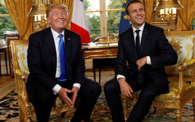 Paris: Macron, Trump Exchange Data 'Confirming' Chemical Weapons Use in Douma