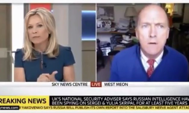 Sky News cuts off top British general after he asks 'Why would Syria launch a gas attack now?'