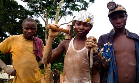 Children of the Congo who risk their lives to supply our mobile phones