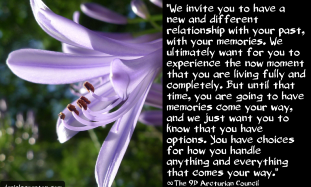 Your Memories ∞The 9th Dimensional Arcturian Council