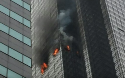 TRUMP TOWER 3-ALARM FIRE [VIDEO]