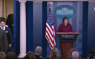4/10/18: White House Press Briefing  [VIDEO]