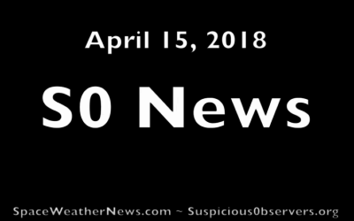 Three Solar Eruptions, Universe, USA Storms | S0 News Apr.15.2018 [VIDEO]