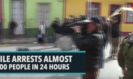 Chile Arrests Almost 5000 People In 24 Hours [VIDEO]