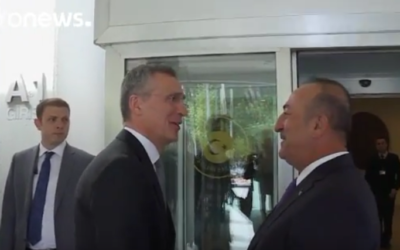 NATO chief defends air strikes on Syria [VIDEO]
