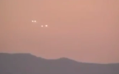 UFO Fleet Puts On An Exciting Show Over Lima Peru [VIDEO]