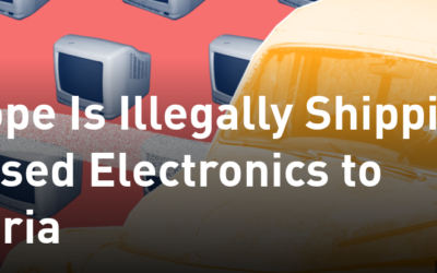 Europe Is Illegally Shipping Its Used Electronics to Nigeria