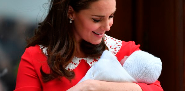 Kate Middleton Bore A Creepy Resemblance To 'Rosemary's Baby' When Presenting Prince Louis