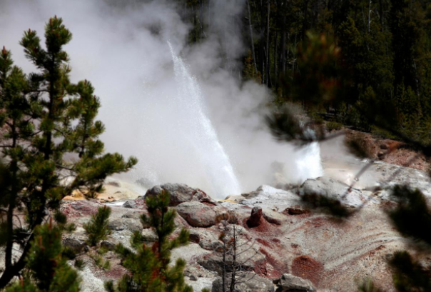 Unusual eruptions at world's largest active geyser in Yellowstone