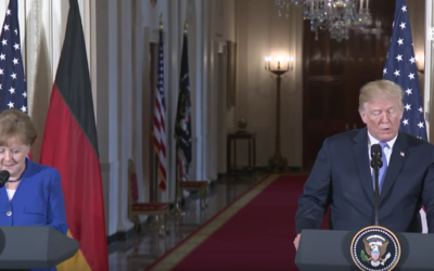 President Trump Hosts a Joint Press Conference with Chancellor Merkel of Germany [VIDEO]