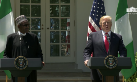 President Trump Hosts a Joint Press Conference with President Buhari [VIDEO]
