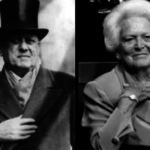 The Uncanny Resemblance of Barbara Bush to Aleister Crowley