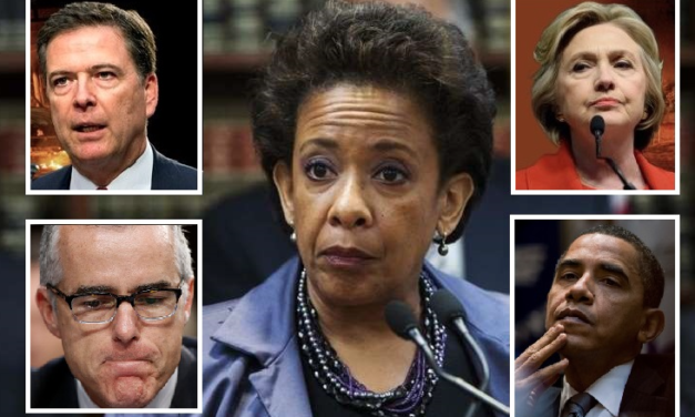 Trail of James Comey's Dirt on Loretta Lynch Discovered Within IG Report on AndrewMcCabe…