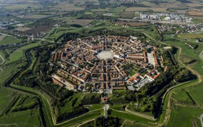 Star shaped cities, towns, and forts as evidence of the unified world of the recent past