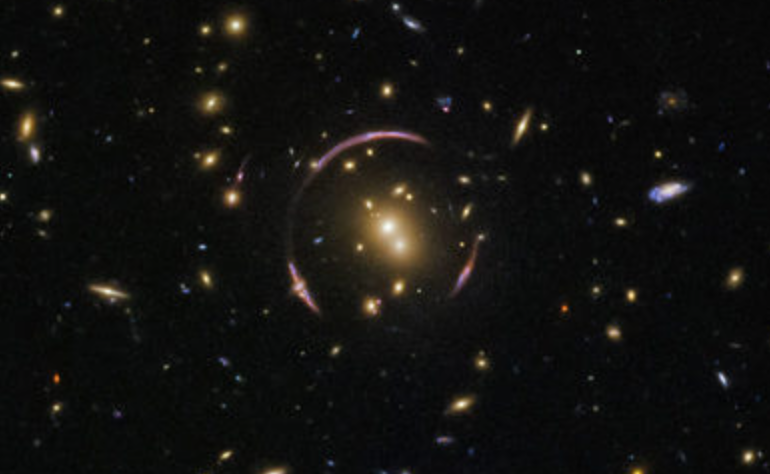 Hubble telescope captures amazing photo of Einstein Ring phenomenon