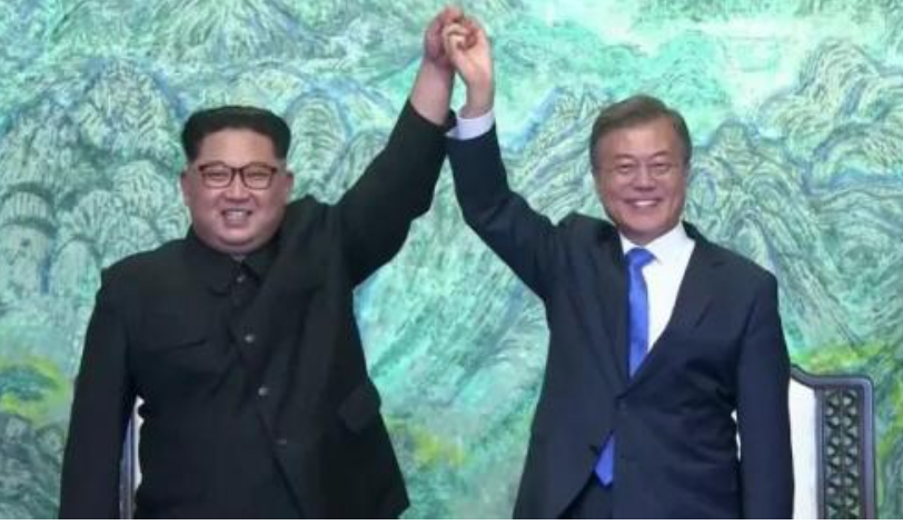 "North And South Korea Declare End To War, Proclaim ""New Era Of Peace"""