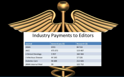 This Is The Sickening Amount Pharmaceutical Companies Pay Top Journal Editors